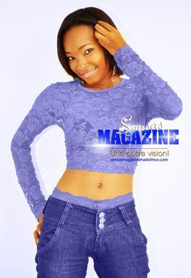 Christelle Modèle Sensas Magazine