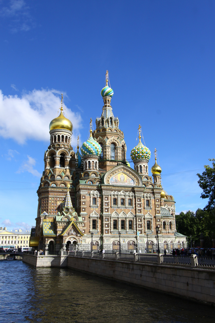 Christi-Auferstehungskirche (Blutskirche) St. Petersburg - Russland, Nordwestrussland