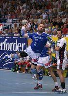 Christian Schwarzer im Anflug