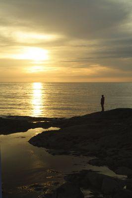 Christiane in sunset 3