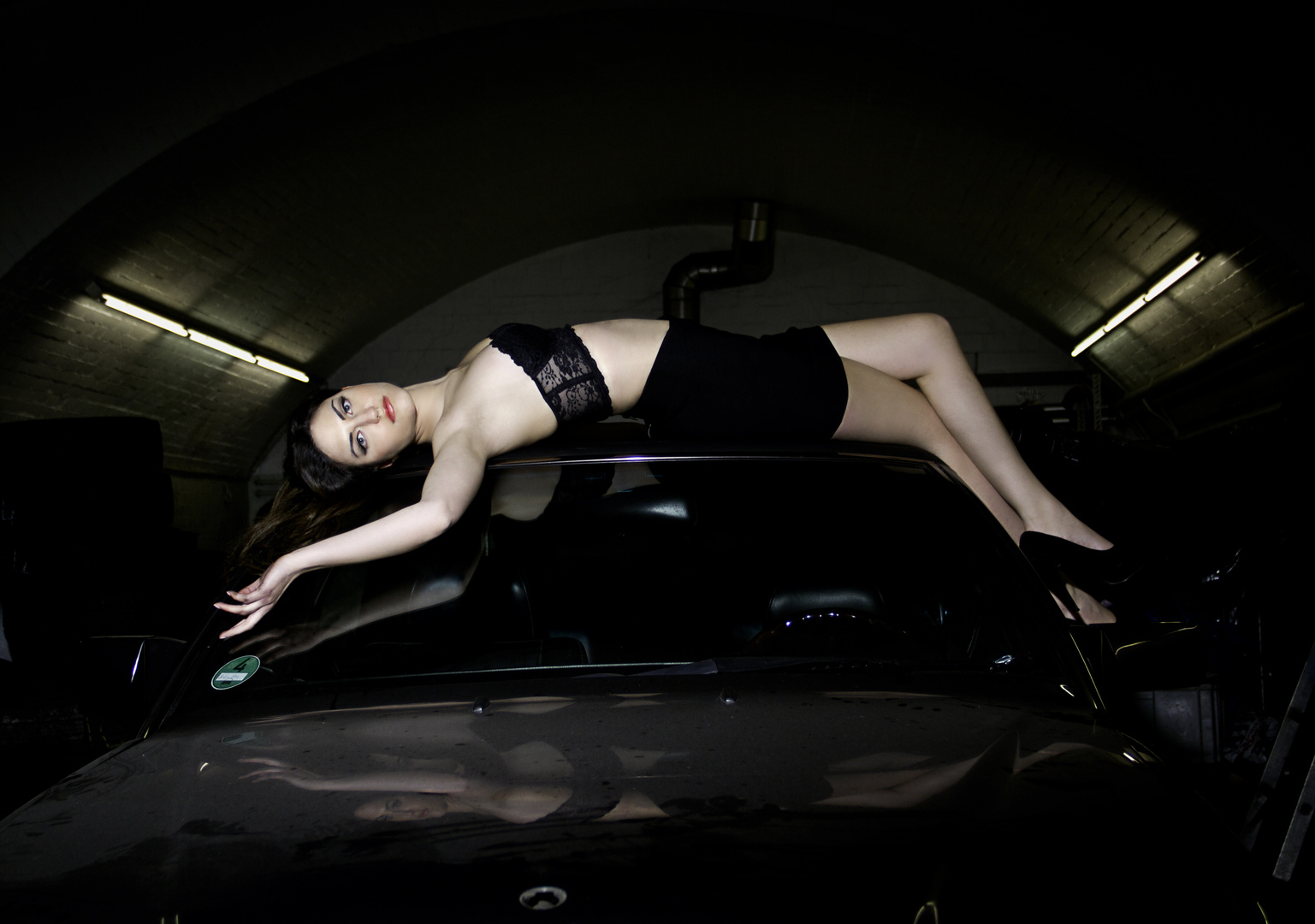 Christina on the Cars