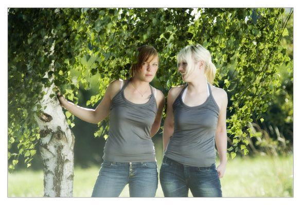 Christina und Yvonne