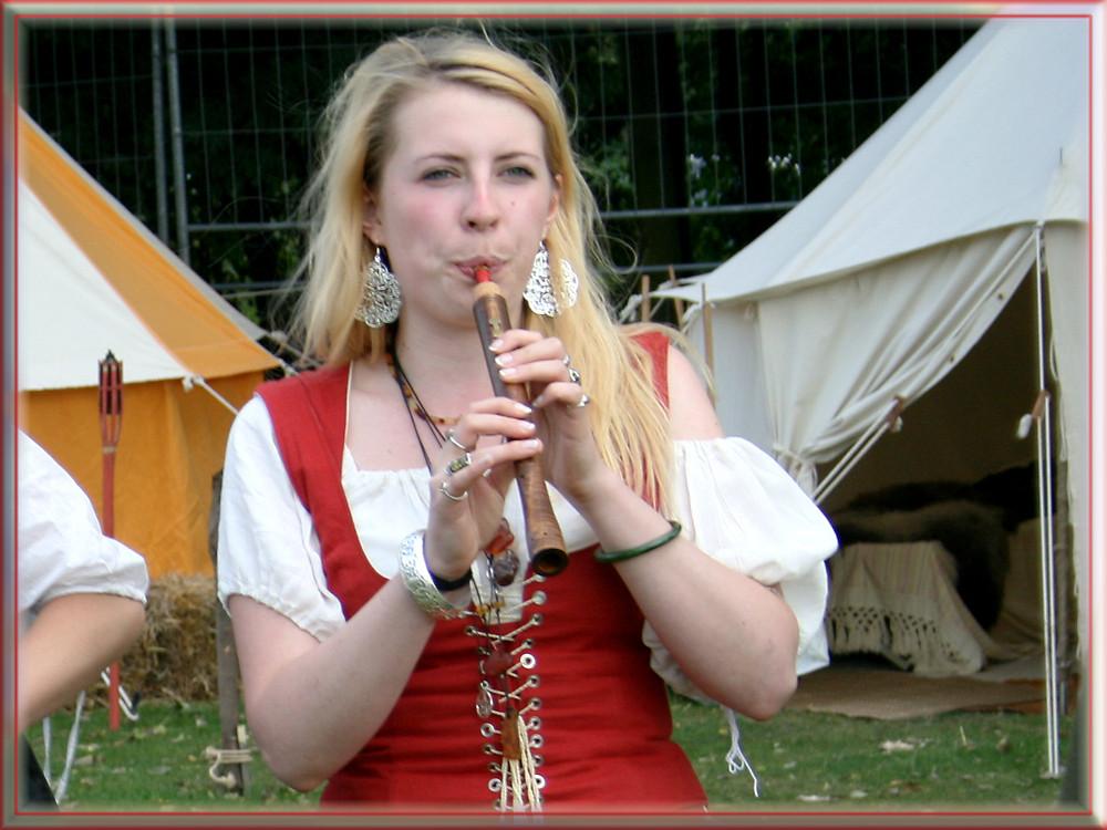Christine mit der Flöte