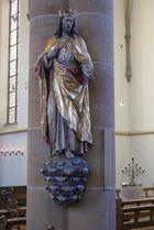 Christkönigs- und Herz-Jesu-Statue