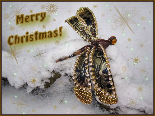 Christmas Dragonfly
