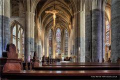 Christoffelkathedraal in Roermond ..