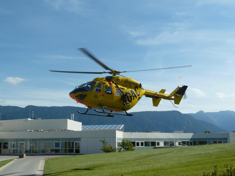 Christoph Murnau Landung an der Unfallklinik Murnau