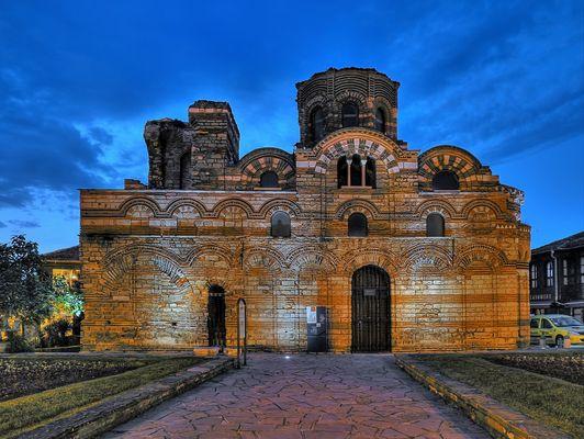 Christos Pantokrator Kirche Nessebar
