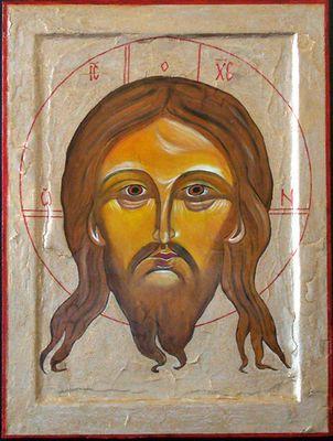 Christus Mandylion Ikone