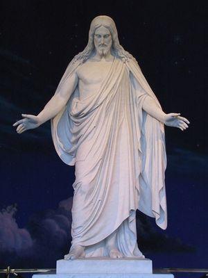 Christus Statue, Temple Square in Salt Lake City