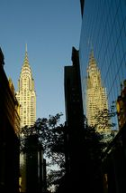 Chrysler Building and reflection