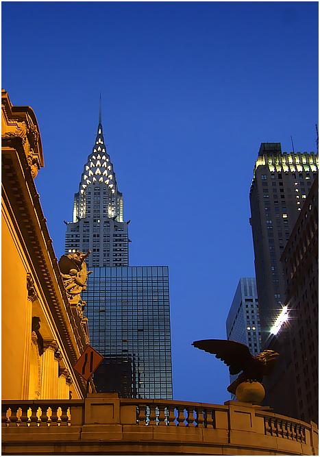Chrysler Building, Grand Hyatt, Grand Central Station