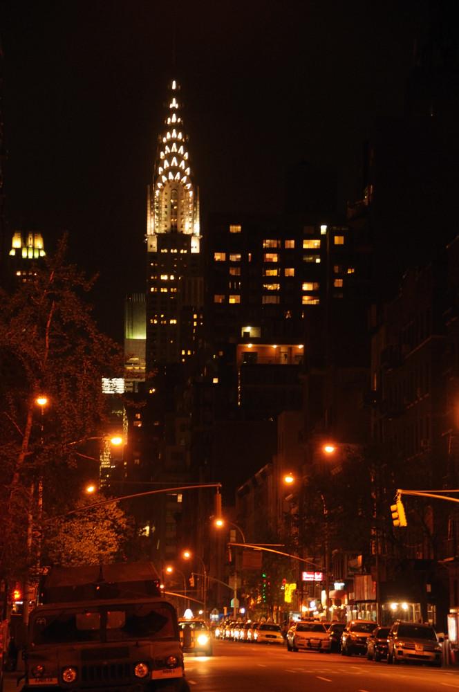 Chrysler Building la Nuit