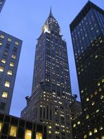 Chrysler Building zur Blauen Stunde (Re-Upload)