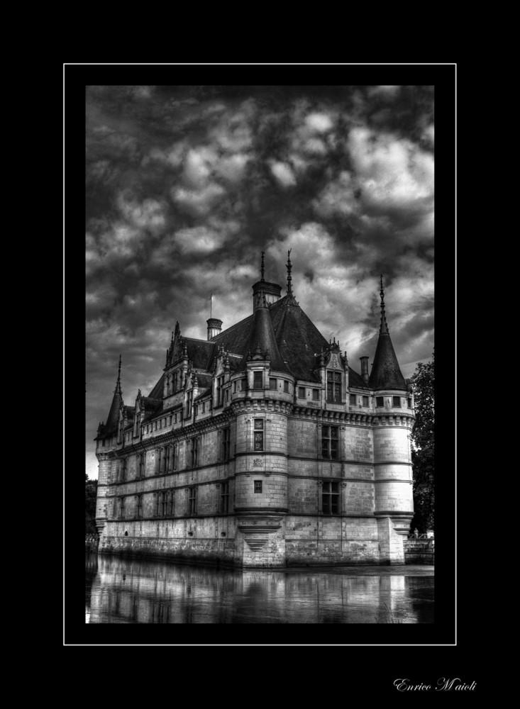 Château d'Azay-le-Rideau B&W
