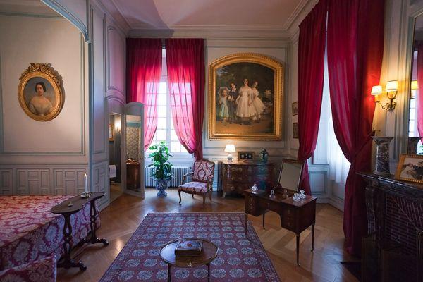 château de Cheverny, un bel intérieur !