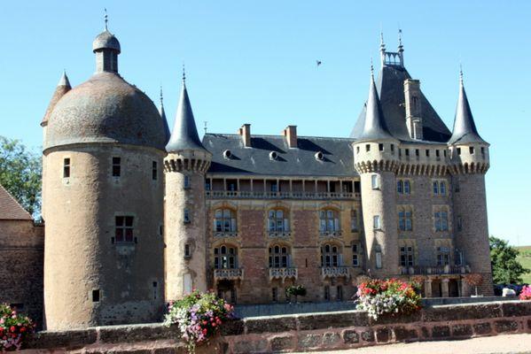 Château de La Clayette en Saône et Loire