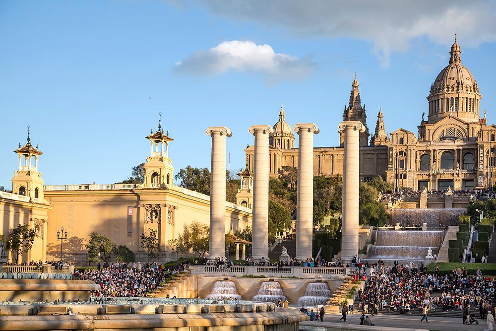 Château de Montjuïc près du centre ville de Barcelone
