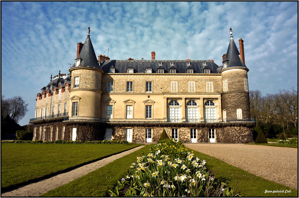 Château de Rambouillet.
