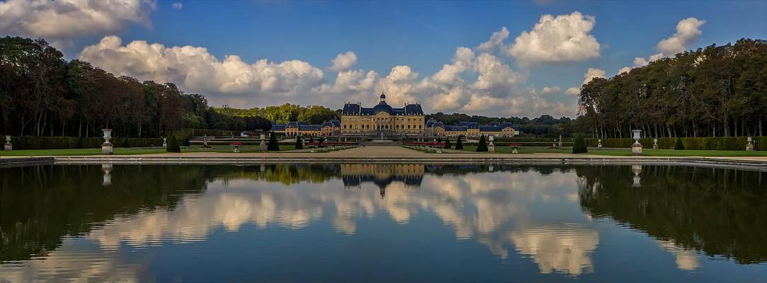 Château de Vaux le vicomte .