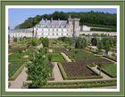 Château de Villandry et une partie des jardins