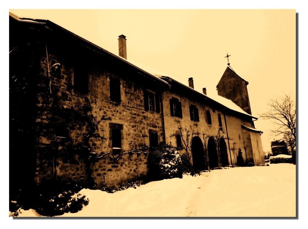 Château des ALLINGES (il y a longtemps!!!!)