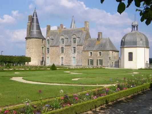 château des Rochers, de Madame de Sévigné