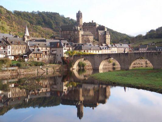 château d'Estaing et son pont
