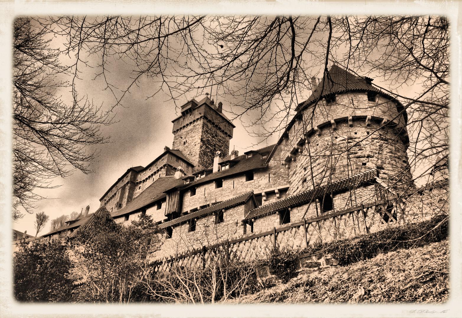 château du Haut-Koenigsbourg (Alsace)