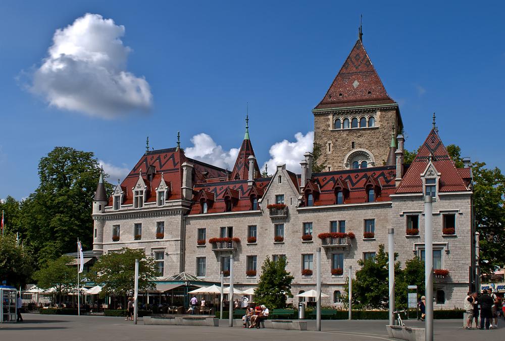 Château Ouchy Lausanne 1