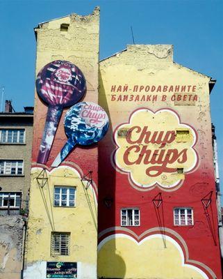 Chupa Chups - amerikanischer Kulturimperialismus in Sofia,