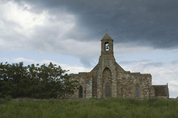 Church auf Lindisfarne (ohne Pferd)