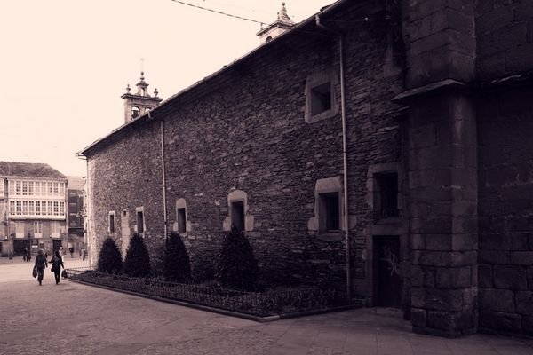 Church in Lugo, Spain