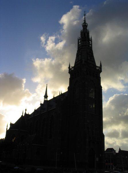 Church in Schagen, Netherlands