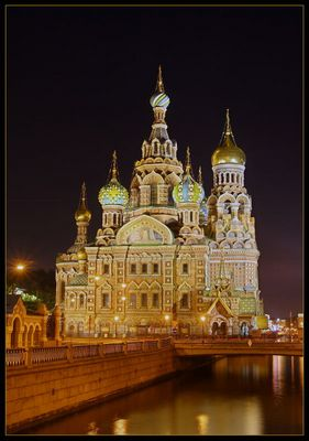 Church of Our Savior on Spilled Blood - St. Petersburg