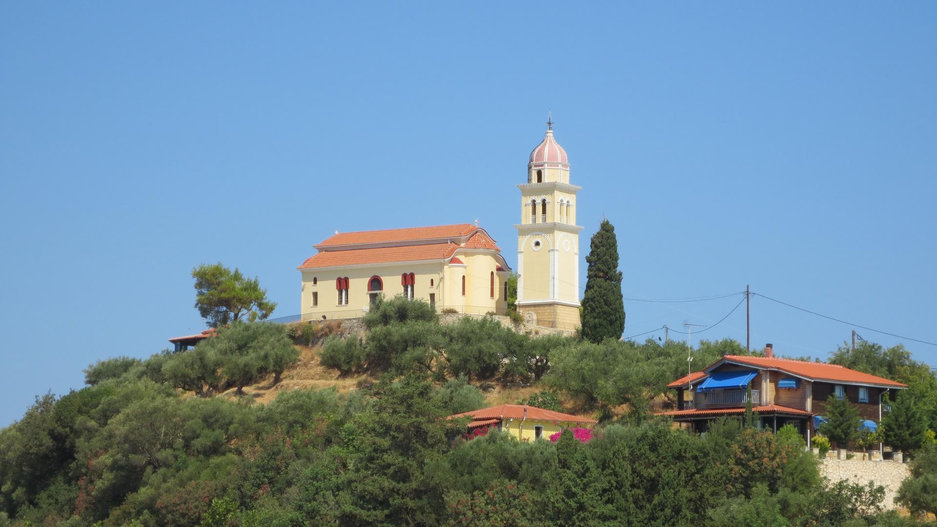 Church on Mountain