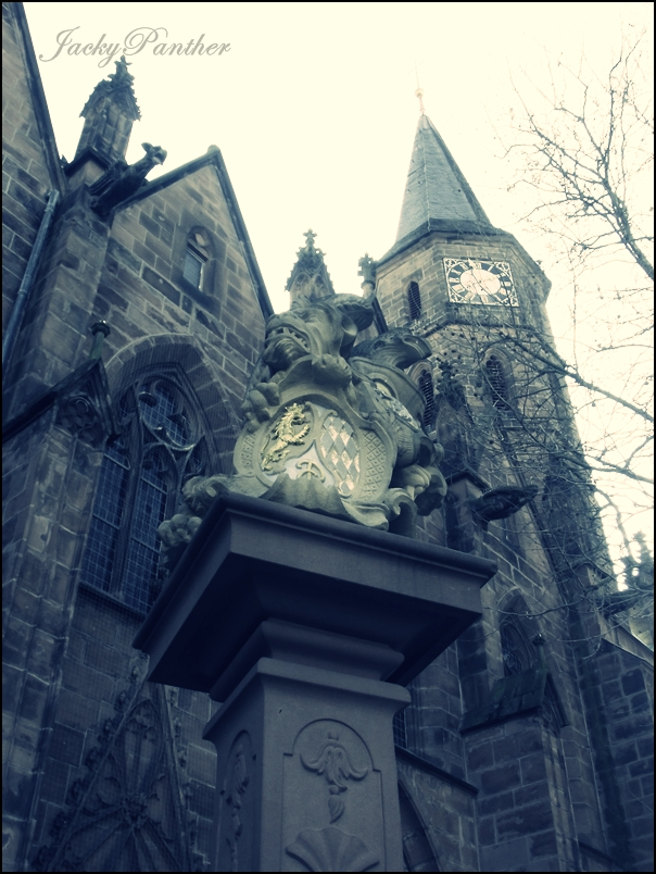 Church with Gargoyle