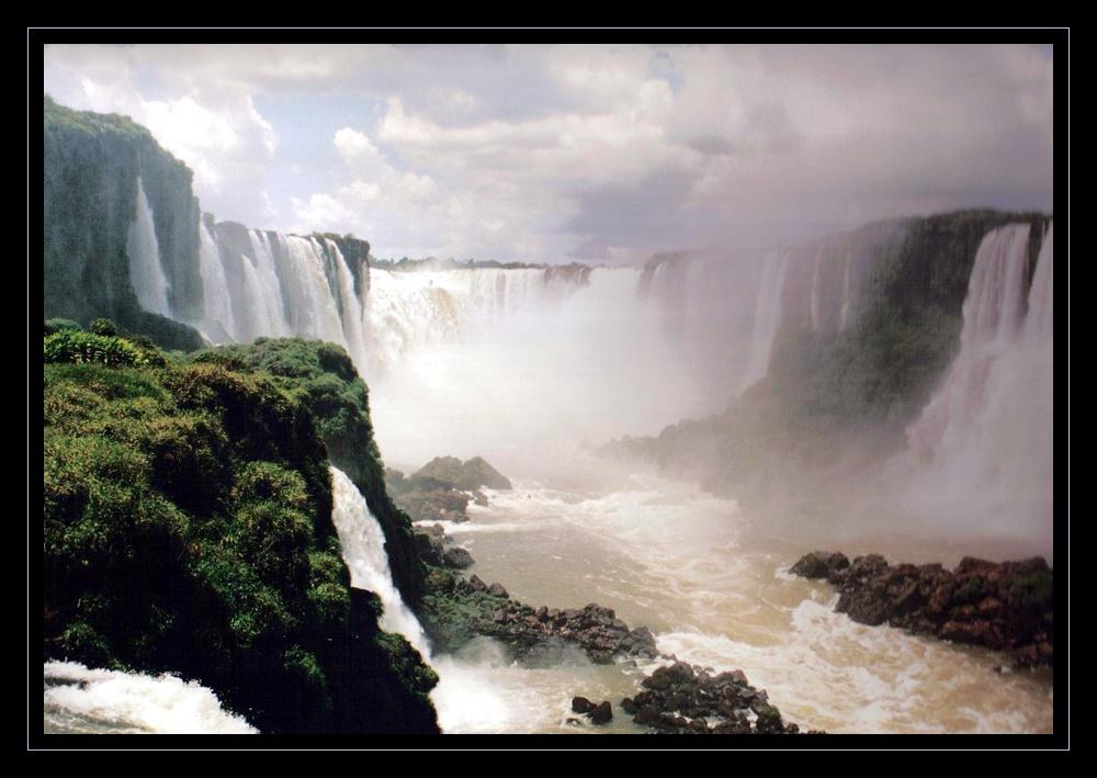 Chute d'Iguazu du coté brésilien
