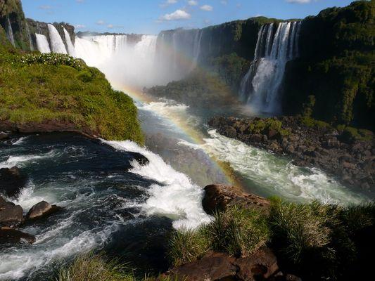 Chutes d'Iguaçu au Brésil