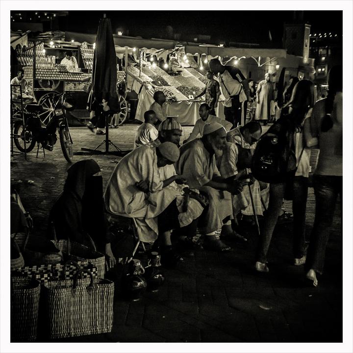 Ciegos de la Plaza Jemma Fnac