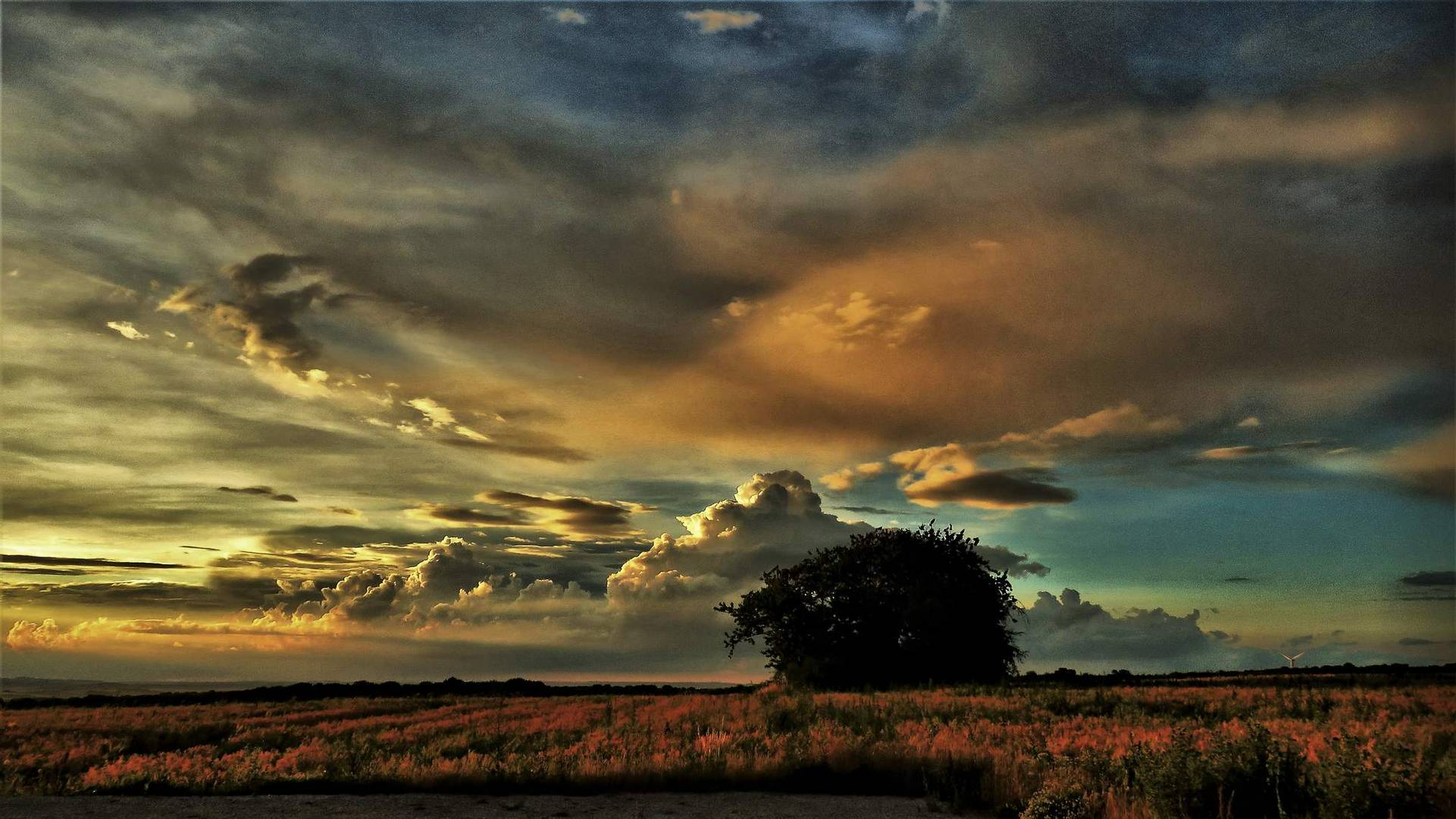 ciel apres l'orage