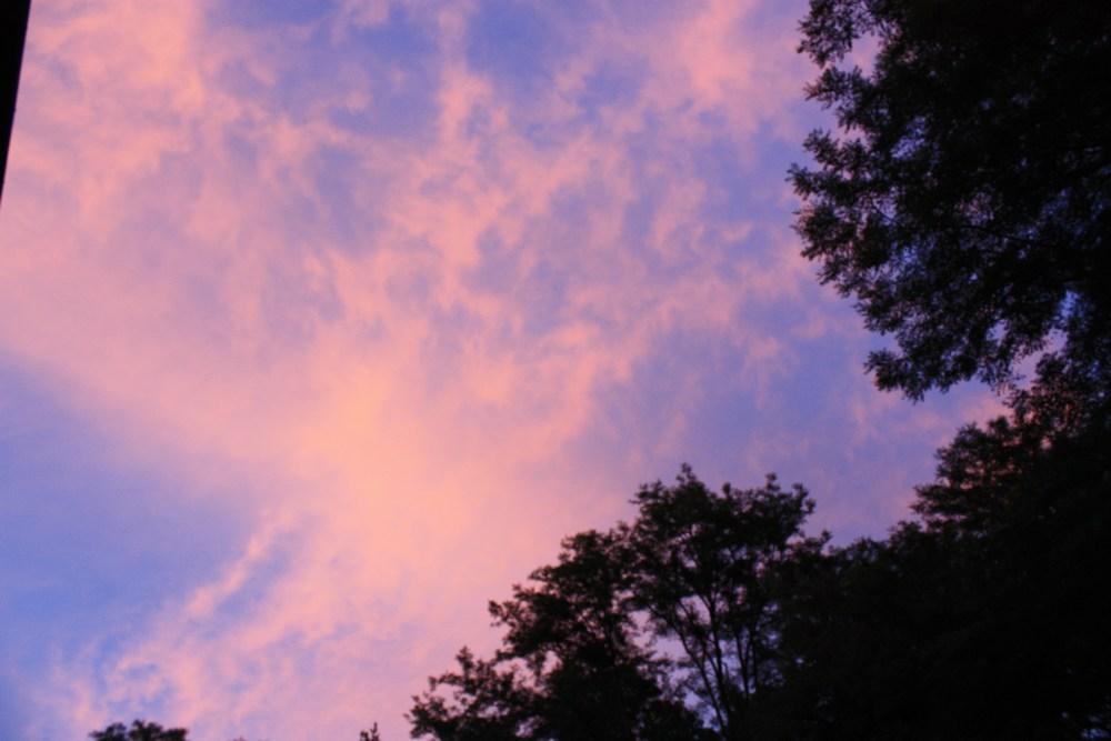 ciel apres orage proche guillos