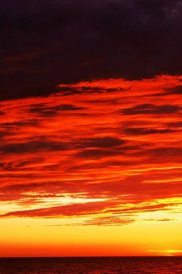 ciel de feu