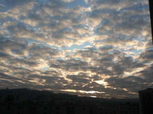 Ciel du 18/11/2011