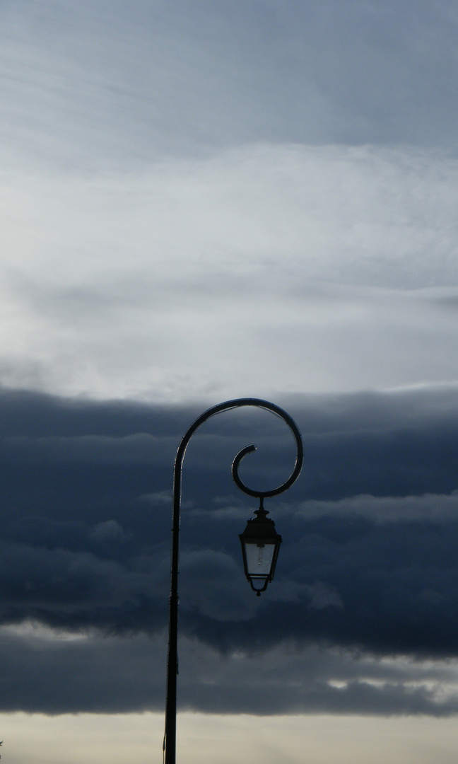 ciel éclairé