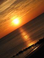 Ciel et mer en feu à Oléron