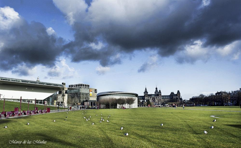 ...cielos de Amsterdam 2...