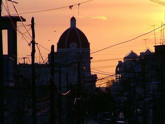 Cienfuegos, Kuba Sonneuntergang