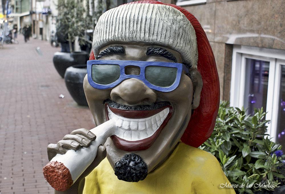 ...cigarrito en Amsterdam...