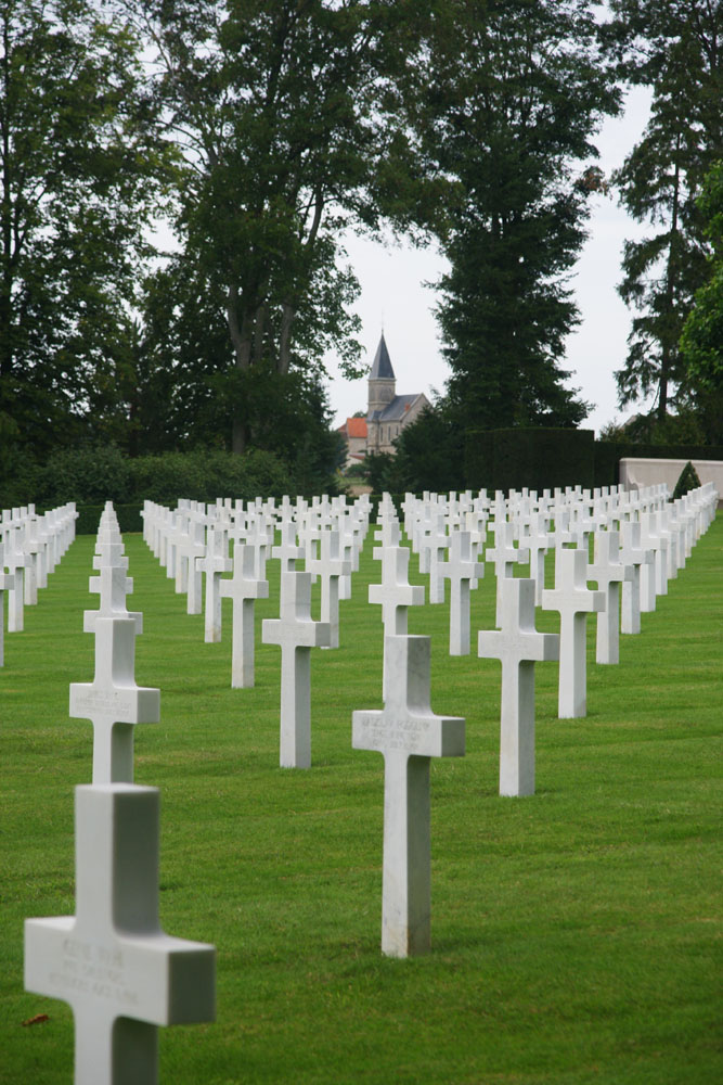 cimetière américain de Seringes et Nelles